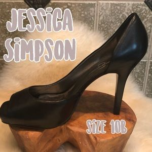 Jessica Simpson Shoes - Jessica Simpson 🖤 Classic Black Leather D'Orsay
